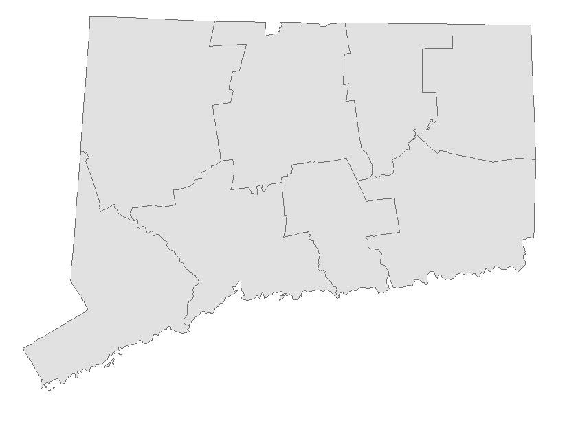 Connecticut Electric School Bus Map