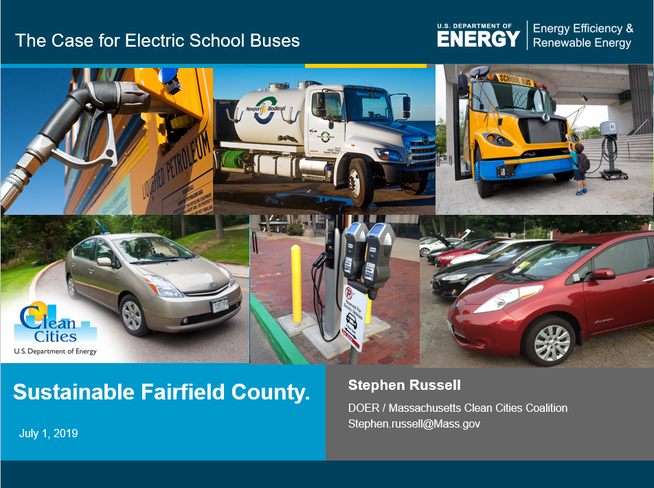 sustainable fairfield county presentation - stephen russel 2019